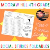 McGraw Hill Fourth Grade Florida Social Studies Unit 4 Fol