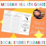 McGraw Hill Fourth Grade Florida Social Studies Unit 5 Fol