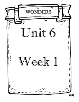 McGraw-Hill Grade 3 Objectives Unit 6 Weeks 1 to 5