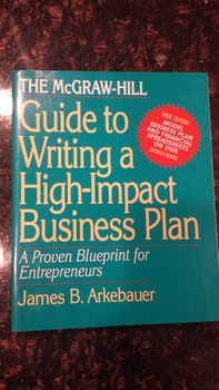 McGraw-Hill Guide to Writing a High-Impact Business Plan 1E (1994) EXL