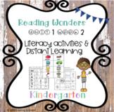 Reading Wonders Kindergarten Unit 1 Week 2 Literacy
