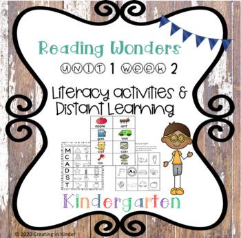 Wonders Kindergarten Unit 1 Week 2 Literacy
