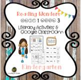 McGraw Hill Reading Wonders Kindergarten Unit 1 Week 3