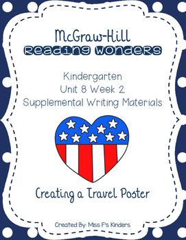 McGraw Hill Kindergarten Reading Wonders Unit 8 Week 2 Writing
