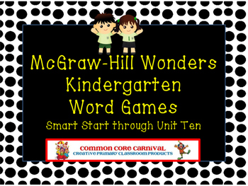 McGraw-Hill Kindergarten Wonders Board Games for Year