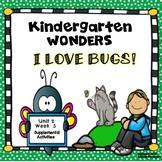 McGraw-Hill Kindergarten Wonders I Love Bugs! Unit 2 Week 3