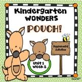 McGraw-Hill Kindergarten Wonders Pouch Unit 1 Week 2