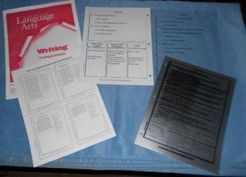 Writing Lessons McGraw-Hill Language Arts Transparencies GRADE 2 (6 Genres) 2001