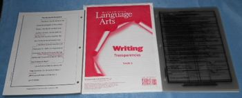 Writing Lessons McGraw-Hill Language Arts Transparencies G