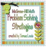 McGraw Hill Math Problem Solving Strategy Posters
