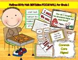 McGraw-Hill My Math Focus Wall-First Grade