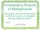 McGraw-Hill My Math Grade 4 Volume 1 Chapter 3 Math Vocabulary Cards