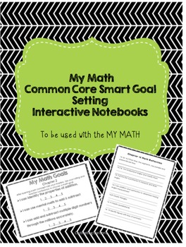 McGraw-Hill My Math Reflection and Goal Sheets for interac