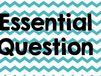 McGraw Hill MyMath Essential Questions