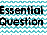 McGraw Hill MyMath Essential Questions