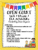 McGraw-Hill Open Court Unit 1 Lesson 1 ELA Activities
