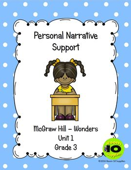 McGraw-Hill Personal Narrative Lesson Plans
