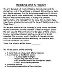 Macmillan McGraw-Hill Reading Grade 4 Unit 5 Project