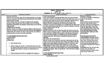 McGraw-Hill Reading Wonders 1st Grade UNIT 1 Beyond Small Group Plans