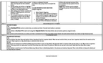 Reading Wonders 1st Grade UNIT 1 Small Group Plans **BUNDLE**
