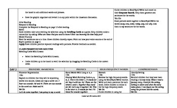 McGraw-Hill Reading Wonders 1st Grade UNIT 3 Approaching Small Group Plans