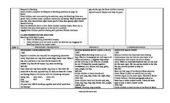 McGraw-Hill Reading Wonders 2nd Grade UNIT 3 Approaching Small Group Plans
