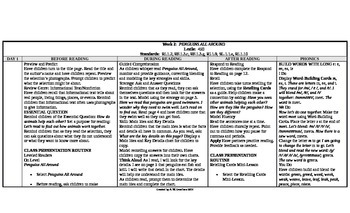 McGraw-Hill Reading Wonders 1st Grade UNIT 4 On Level Small Group Plans