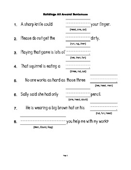McGraw Hill Reading Wonders © 1st Grade Unit 2 Week 2 Worksheets