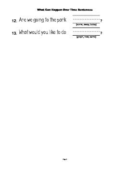 McGraw Hill Reading Wonders © 1st Grade Unit 3 Week 1 Sentences
