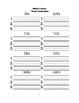 McGraw Hill Reading Wonders © 1st Grade Unit 3 Week 2 Worksheets