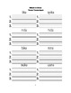 McGraw Hill Reading Wonders © 1st Grade Unit 3 Week 2 Worksheets