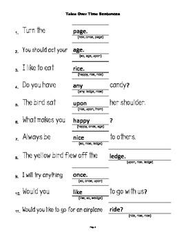 McGraw Hill Reading Wonders © 1st Grade Unit 3 Week 3 Sentences