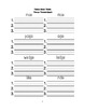 McGraw Hill Reading Wonders © 1st Grade Unit 3 Week 3 Worksheets