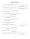 McGraw Hill Reading Wonders © 1st Grade Unit 3 Week 4 Sentences