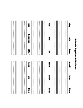 McGraw Hill Reading Wonders © 1st Grade Unit 4 Week 2 Worksheets