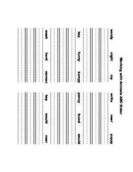 McGraw Hill Reading Wonders © 1st Grade Unit 4 Week 5 Worksheets