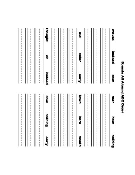 McGraw Hill Reading Wonders © 1st Grade Unit 5 Week 4 Worksheets