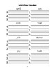 McGraw Hill Reading Wonders © 1st Grade Unit 5 Week 5 Worksheets