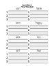 McGraw Hill Reading Wonders © 1st Grade Unit 5 Weeks 1-5 Worksheets