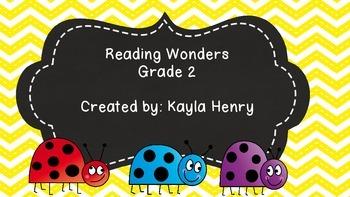 McGraw-Hill Reading Wonders 2nd Grade
