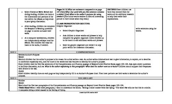 McGraw-Hill Reading Wonders 2nd Grade UNIT 3 Beyond Small Group Plans
