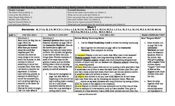 Reading Wonders 2nd Grade UNIT 3 Intervention Wonderworks Plans