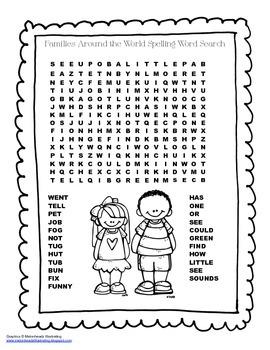 McGraw Hill Reading Wonders © 2nd Grade Unit 1 Week 2 Spel