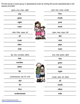 McGraw Hill Reading Wonders © 2nd Grade Unit 1 Week 5 Spelling Practice