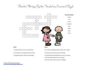 McGraw Hill Reading Wonders © 2nd Grade Unit 1 Week 5 Vocabulary Crossword