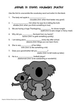 McGraw Hill Reading Wonders © 2nd Grade Unit 2 Week 2 Worksheets