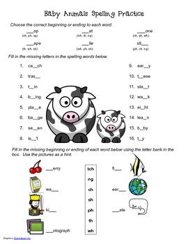 McGraw Hill Reading Wonders © 2nd Grade Unit 2 Week 4 Spelling Practice