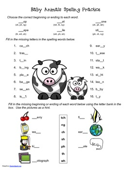 McGraw Hill Reading Wonders © 2nd Grade Unit 2 Week 4 Spelling Practice