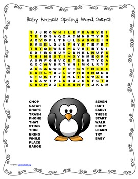 McGraw Hill Reading Wonders © 2nd Grade Unit 2 Week 4 Spelling Word Search