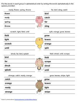 McGraw Hill Reading Wonders © 2nd Grade Unit 2 Week 5 Spelling Practice